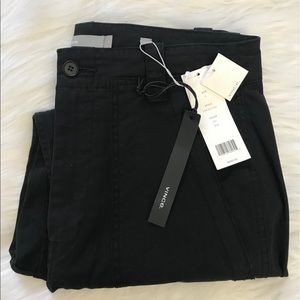 NEW wTag-Women's VINCE. Black Crop Pants Sz 6